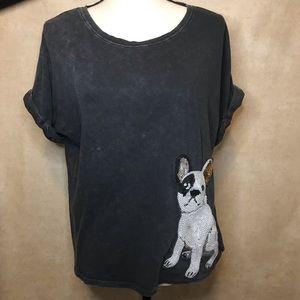 Buffalo David Bitton Tee Shirt French Bulldog